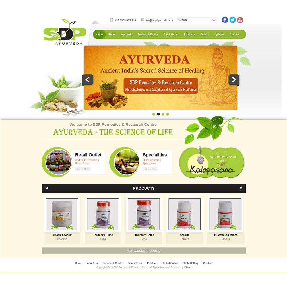 Sdp Ayurveda Vibhaa Technologies