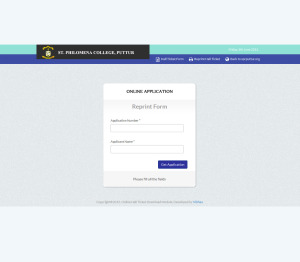 Online Hall Ticket Download